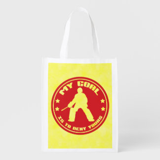 Field Hockey Goalie Quote Market Tote