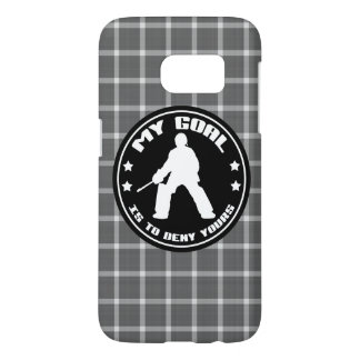 Field Hockey Goalie Quote Phone Case