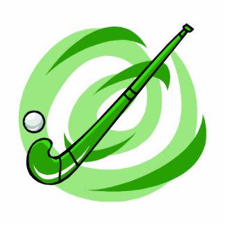 Field Hockey green logo Statuette