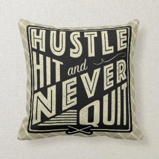 Field Hockey Hustle Hit Name & Number Cushion