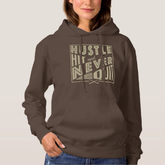 Field Hockey Hustle, Hit & Never Quit Hoodie
