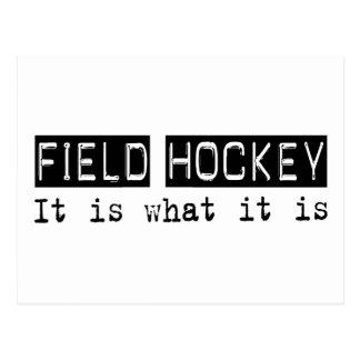 Field Hockey It Is Postcard