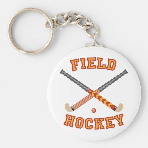 Field Hockey Key Chains