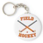 Field Hockey Keychain