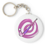 Field Hockey Keychain