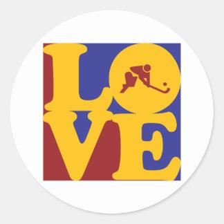 Field Hockey Love Stickers