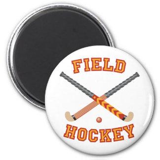 Field Hockey Magnet