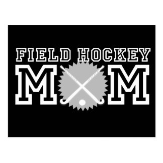 Field Hockey Mom Postcard