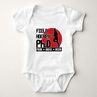 Field Hockey Ph.D Babygrow Baby Bodysuit