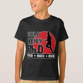 Field Hockey Ph.D Dark T-Shirt