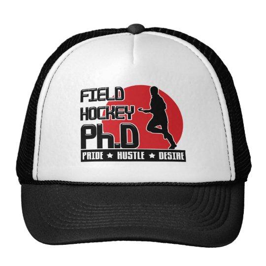 Field Hockey Ph.D Trucker Hat