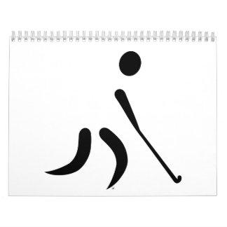 Field hockey player calendar