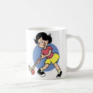 Field Hockey Player Coffee Mug