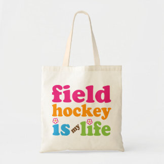 Field Hockey Player Gift Girls Tote Bag