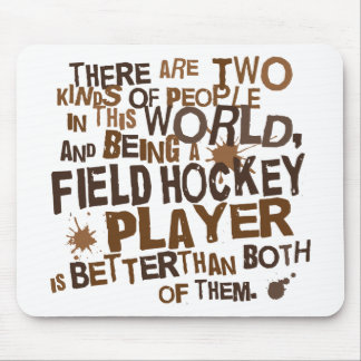 Field Hockey Player Gift Mouse Pad