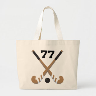 Field Hockey Player Uniform Number 77 Gift Bags