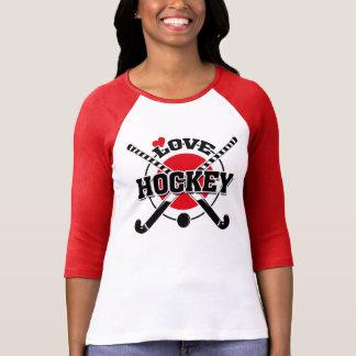 Field Hockey Players, Crossed Hockey Sticks T-Shirt