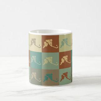 Field Hockey Pop Art Coffee Mug