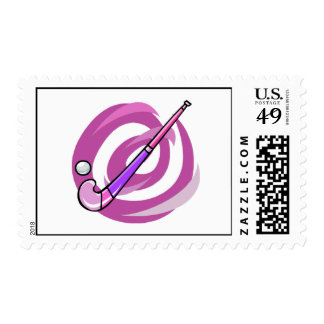 Field Hockey Postage Stamps