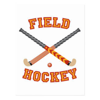 Field Hockey Postcard