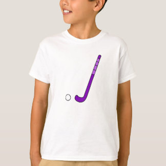 Field Hockey purple stick T-Shirt