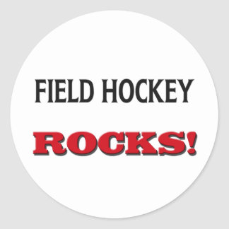 Field Hockey Rocks Stickers
