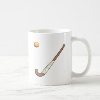 Field Hockey Stick & Ball Coffee Mug