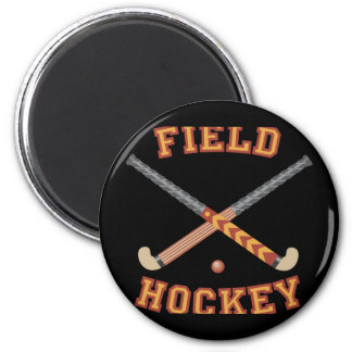 Field Hockey Sticks Fridge Magnet
