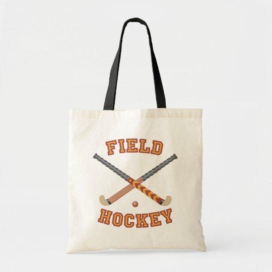 Field Hockey Sticks Tote Bag