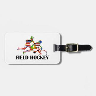 Field Hockey Tag For Luggage
