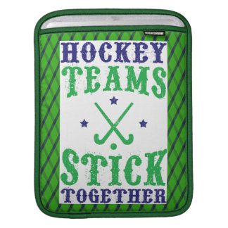 Field Hockey Teams Stick Together Cover