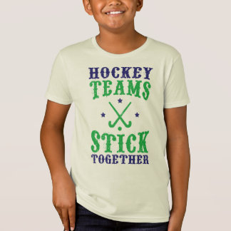 Field Hockey Teams Stick Together T-Shirt