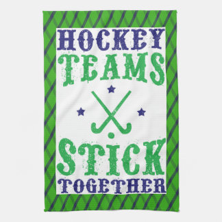 Field Hockey Teams Stick Together Tea Towel