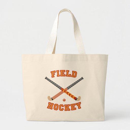 Field Hockey Tote Bags