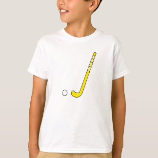 Field Hockey yellow stick T-Shirt