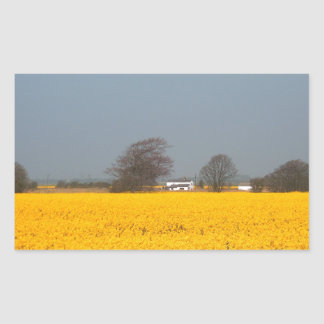 Field in Bloom & Country Cottage Sticker