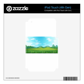 Field iPod Touch 4G Skins
