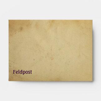Field mail envelopes