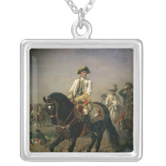 Field Marshal Baron Ernst von Laudon Silver Plated Necklace