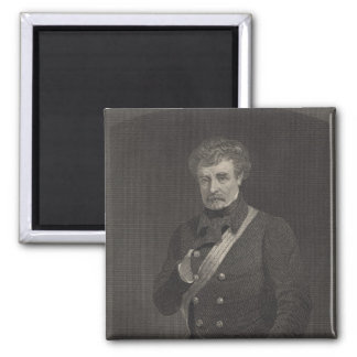 Field Marshal Colin Campbell 2 Inch Square Magnet