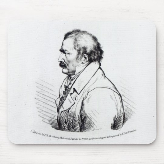 Field Marshal Prince Blucher of Wahlstadt Mouse Pad