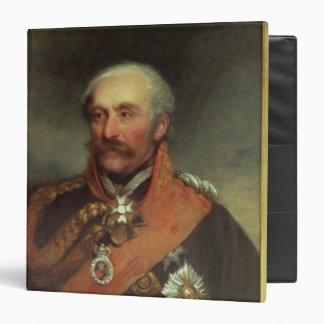 Field Marshal Prince Von Blucher  c.1816 3 Ring Binder