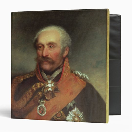 Field Marshal Prince Von Blucher  c.1816 3 Ring Binder