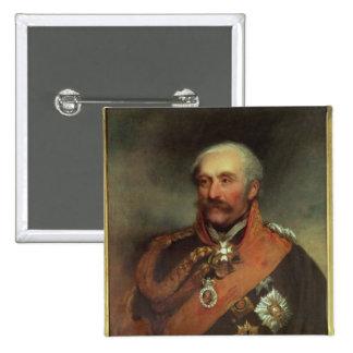 Field Marshal Prince Von Blucher  c.1816 2 Inch Square Button