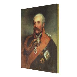 Field Marshal Prince Von Blucher  c.1816 Canvas Print