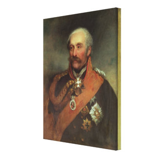 Field Marshal Prince Von Blucher  c.1816 Canvas Print