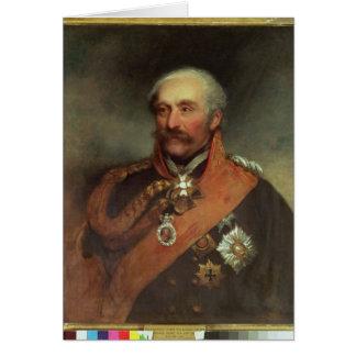 Field Marshal Prince Von Blucher  c.1816 Greeting Card