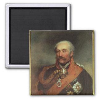 Field Marshal Prince Von Blucher  c.1816 2 Inch Square Magnet