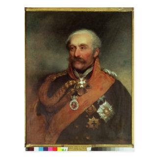 Field Marshal Prince Von Blucher  c.1816 Postcard