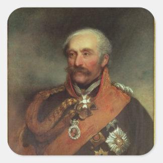 Field Marshal Prince Von Blucher  c.1816 Square Sticker